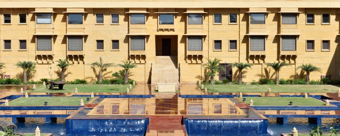 Jaisalmer Marriott Resort & Spa facade