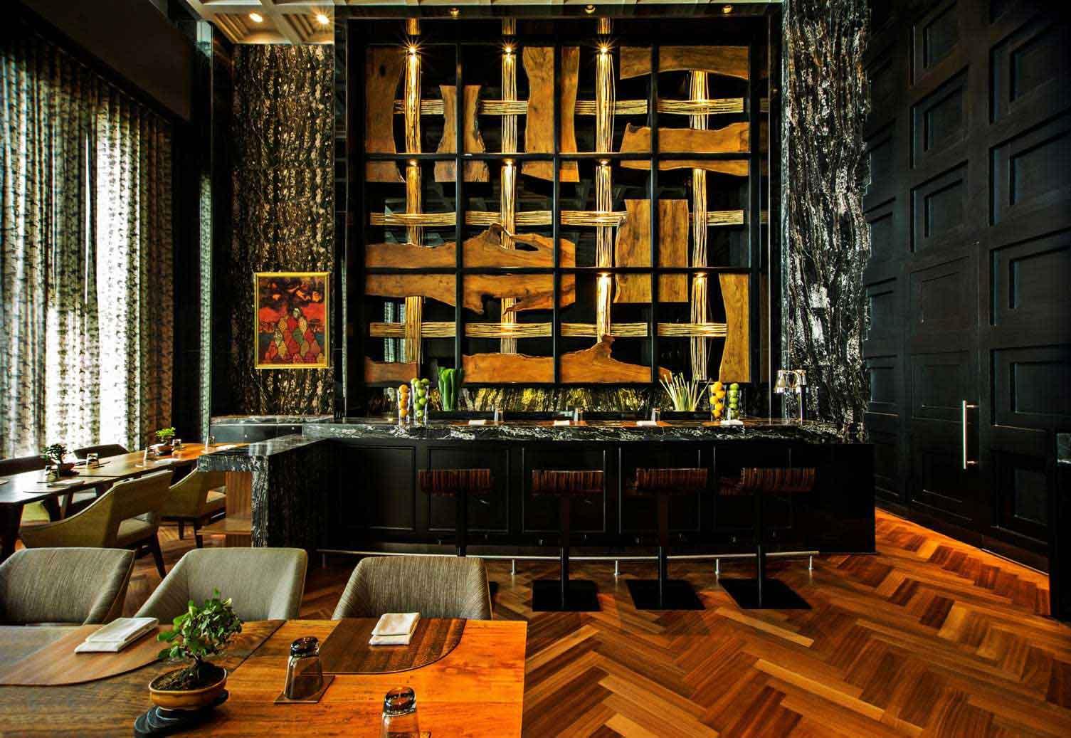 Yuuka Restaurant in The St. Regis Mumbai - Club Marriott South Asia
