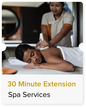 30 Minute Extension on Paid Massage
