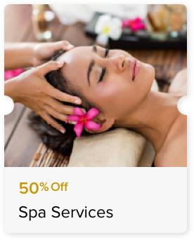 50% Off Select Massage Treatments