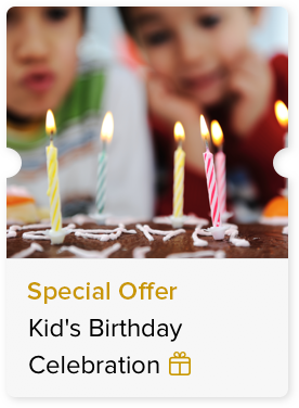 Special Offer on a Kid's Birthday Celebration