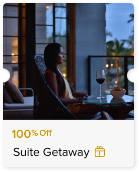 100% Off Suite Night Stay