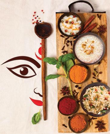 A Thali-cious Navratri Celebration