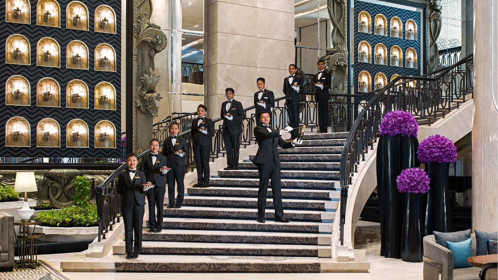 The St. Regis Evening Champagne Sabering
